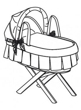 Babywiege primo nido PELUCHE