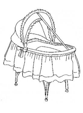 Babywiege Aurora GINA