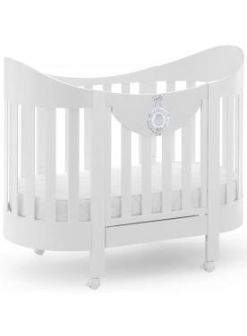 Ovales Babybett BABY CHIC