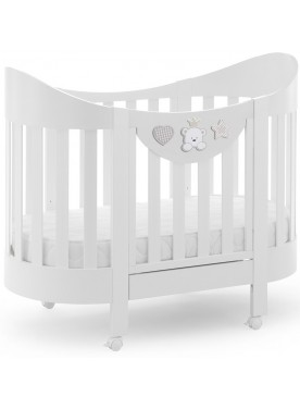 Ovales Babybett BABY RE
