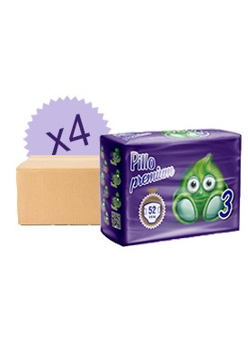 Monatsbox Windeln Pillo 3 - 4/9 Kg