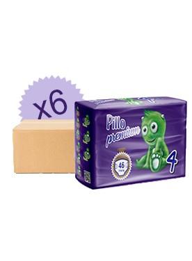 Monatsbox Windeln Pillo 4 - 7/18 Kg