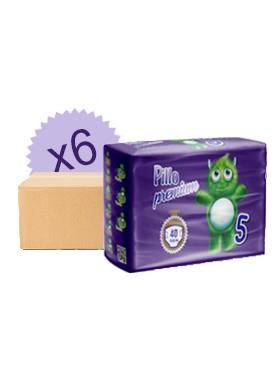Pacco risparmio pannolini Pillo 5 - 11/25 Kg