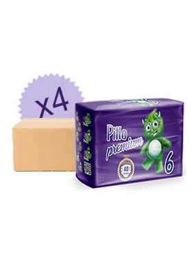 Pack mensuel couches Pillo 6 - 16/30 Kg
