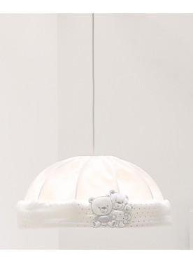 Kuppelförmige Lampe HAPPY FAMILY - Weiss