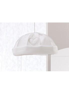 Lampadario a cupola AMORE - Bianco