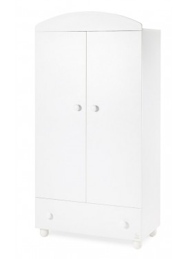 Armadio 2 ante FLASH - Bianco