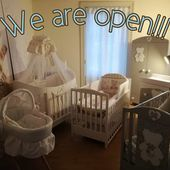 Come to visit us❗ We are open Monday - Sunday on request . #hedingen #showroom #austellung #kinderbett #babybett #italbaby #madeinitaly #babyzimmer #babybed #babyroom #nursery #italiandesign