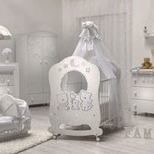 {FAMILY: where life begins and love never ends ♥️}. —> cozy bedroom for your newborn child, collection HappyFamily 👨‍👩‍👧‍👦 only @hoibabych , the beauty of the made in Italy 🇮🇹 #babyroom #babyroomdecor #kinderzimmer #kinderzimmerdeko #newbornbaby #designforkids #babybedroom #kidsroom #nursery #mumtobe #followus #hoibabych #italbaby