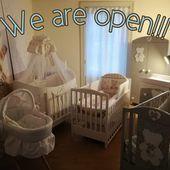 Come to visit us❗ We are open Monday - Sunday on request . #hedingen #showroom #austellung #kinderbett #babybett #italbaby #madeinitaly #babyzimmer #babybed #babyroom #nursery #italiandesign